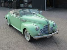 Venema Antiques & Classic Cars, 1950 Buick , smooth and green as key lime pie