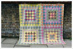 Hope Valley quilt by needlesandlemons on Etsy