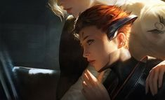 mercy and pharah Overwatch Video Game, Overwatch Fan Art, Overwatch Drawings, Overwatch Memes, Overwatch Comic, Chen, Mercy And Pharah, Yuri, Fantasy Art Warrior