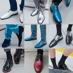 Christian Louboutin shoes from the Jonathan Saunders S/S 2013 - Men Collection.