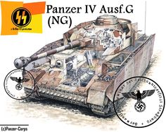 Prototype Scheme for Panzer IV Ausf.G by Joseph-MNBC on DeviantArt