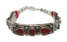 Coral Bracelet Boho Bracelet Gypsy Bracelet