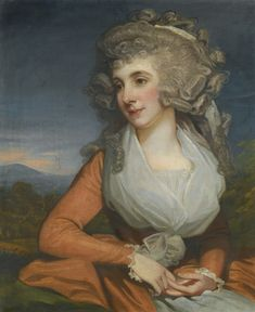 Attributed to Mather Brown, Portrait of Mary Livius, 1780s | Lot | Sotheby's
