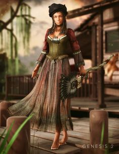 Swamp Witch for Genesis 2 Female(s)