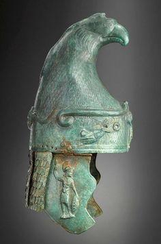 Roman Phrygian Type Bronze Cavalry Helmet, 100-250 ADThe helmet, terminating…