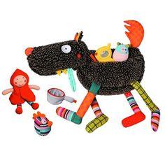 大野狼與小紅帽 - ebulobo 法國創意兒童玩具