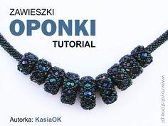Sposób na beadingowe oponki wg. KasiOK- tutorial ze schematami