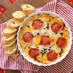 Hot Pizza Dip - Holidays