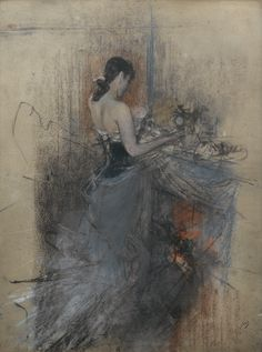 Giovanni Boldini - artwork prices, pictures and values. Art market estimated value about Giovanni Boldini works of art. Giovanni Boldini, Thomas Gainsborough, Italian Painters, Italian Artist, Figure Painting, Painting & Drawing, Intermediate Colors, Ouvrages D'art, European Paintings