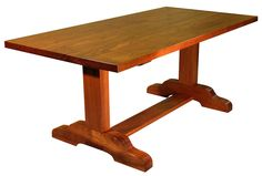 tressel table | Trestle Table, made from Jatoba