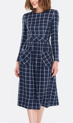 MustHave Check Dress