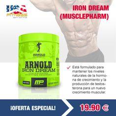 Todas las ofertas se encontrarán disponibles hasta agotar existencias. ¡STOCK LIMITADO!   http://usafitness.es/es/anabolicos-naturales/2348-iron-dream.html