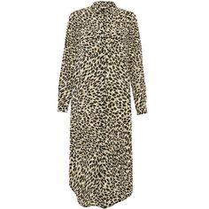 Great Plains Cara Leopard L S Shirt Dress - Trouva S Shirt, Shirt Dress, Great Plains, Animal Print Dresses, Classic Looks, Printed Shirts, Fashion Brands, Dress Up, Women Wear