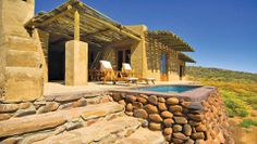 The Tankwa Karoo National Park part of SANParks, Western Cape offers accommodation in the form of camping, cottages, and guesthouses. Great Places, Places To Go, Game Lodge, Farm Stay, Exterior, Africa Travel, Holiday Destinations, Lodges, South Africa