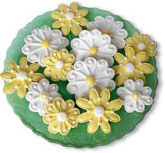 Decorated Cookies Gift   Daisy Do Bouquet Hand Decorated Sugar Cookie Gift Collection