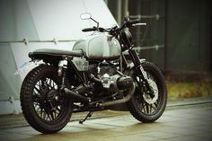 hope you enjoy the cafe racer inspiration. Motos Bobber, Motos Bmw, Bmw Scrambler, Bobber Bikes, Bmw Motorcycles, Custom Motorcycles, Bmw Boxer, Bmw R 100 Rs, Bmw R 80
