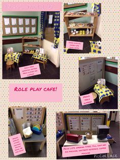 Role play cafe! EYFS