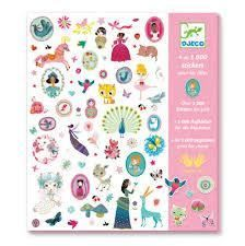 Djeco Over Stickers for Girls Sticker Collection Craft Kits, Craft Projects, School Projects, Art Nouveau, Scrapbooking, Origami, Custom Notebooks, Creative Play, Party Bags