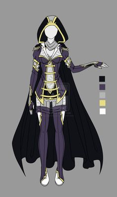 Adoptable outfit 3(closed) by LaminaNati.deviantart.com on @DeviantArt