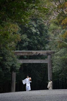 祈年祭 奉幣 神宮 内宮 - 途中下車