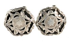 Mexican Sterling Silver Cufflinks by Yourgreatfinds on Etsy