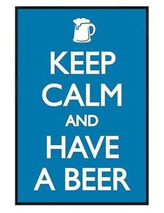 #Gloss #black #framed keep calm and have a beer maxi poster 61x91.5cm, View more on the LINK: http://www.zeppy.io/product/gb/2/381444376078/