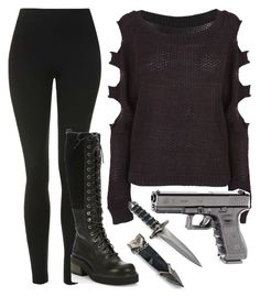 """""""On the road- Hera Hendrix"""" by misshemmings96 ❤ liked on Polyvore featuring Beretta, Topshop and See by Chloé"""