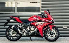 Nieuw: Honda CBR500R