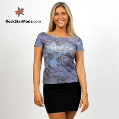 All over printed t-shirt for women.Join us in the discount chase, read more on rockstarmoda.com/index.php?id_cms=6&controller=cms&id_lang=1 #tshirt #rockstarmoda #rock #discount #color #camiseta #algodon #cotton #printed #estampado #apparel #madeinspain #tienda #online #shop #store