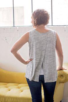 Sewing Top Tank top Sewing Pattern free pdf pattern for women Easy Sewing Patterns, Clothing Patterns, Sewing Tutorials, Sewing Projects, Pdf Patterns, Tutorial Sewing, Tank Top Patterns, Shirt Patterns For Women, Pattern Sewing