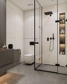 Washroom Design, Toilet Design, Bathroom Design Luxury, Bathroom Layout, Modern Bathroom Design, Small Bathroom Interior, Modern Bathroom Decor, Home Room Design, Home Interior Design