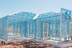 Construção a seco em steel frame