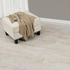[neu.haus] Laminat Vinyl-Boden Eiche weiss 1m² - PVC-Design-Bodenbelag mit gefühlsechter Holz-Struktur stark strukturiert Planken zum Kleben - 4 Dekor Dielen = 1,114 qm %0a
