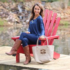 Monogrammed Purse from MARLEYLILLY.com!