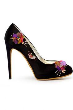 Shoes- floral