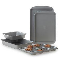 Cooks Nonstick 5-Piece Bakeware Set