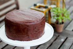 SoNo Chocolate Ganache Cake, the best chocolate cake in the world on @janemaynard