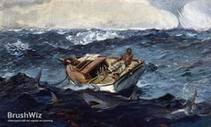 The Gulf Stream by Winslow Homer - Oil Painting Reproduction - BrushWiz.com