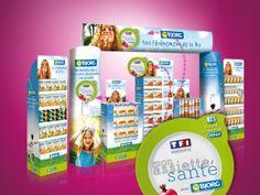 PLV / leaflet / plaquette / Bjorg Bio-Nutrition / Mon Assiette Santé / TF1  / La compagnie des images