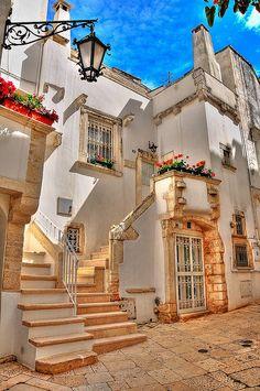 Martina Franca dans la région des Pouilles #Italie #Voyage #Tourisme