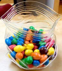 unzipped glass snack bag u2013 18