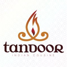27 Outstanding Restaurant Logos Available for Purchase! Restaurant Logo Design, Restaurant Names, Menu Design, Branding Design, Design Ideas, Tandoori Restaurant, Spice Logo, India Logo, Food Business Ideas
