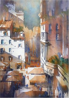 Thomas W. Schaller「From the Terrace」