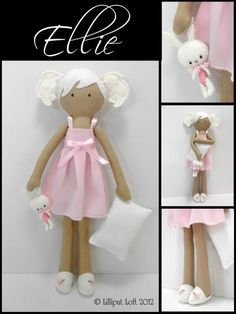 Poppet 'Ellie' by JIll at Lilliput Loft