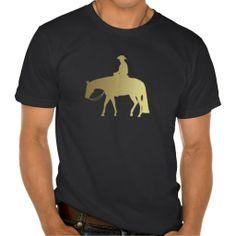 Golden Western Pleasure Horse Shirt #WesternPleasure #HorseTees