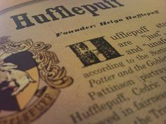 I just became a member of Pottermore and got sorted in a wonderful house. :)