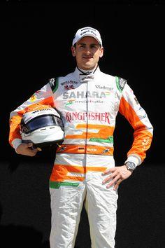 Round 1, Rolex Australian Grand Prix 2013, Preparation, #15 Adrian Sutil (DEU), Driver, Sahara Force India F1 Team
