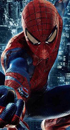 Spiderman! #blue #red