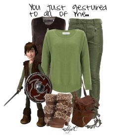 """Hiccup - Dreamwork's How to Train Your Dragon"" by rubytyra ❤ liked on Polyvore featuring Harvey Faircloth, 3.1 Phillip Lim, Jas M.B., John Lewis, Hot Topic, Naughty Monkey and dreamworks"