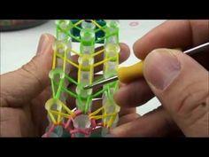 Rainbow loom-Rubberband bracelets